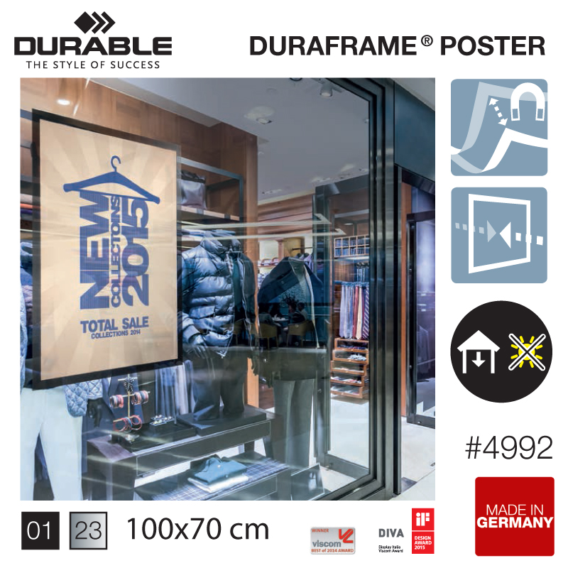 DURAFRAME® poster 100×70