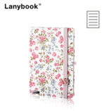 Notes Bloomy rose A6 linije