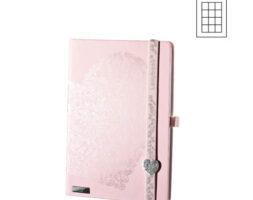 Notes Million Hearts A6 roze kocke