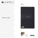 De-lux agenda Honeycomb Black
