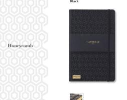 De-lux agenda Honeycomb Black
