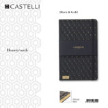 De-lux agenda Honeycomb Black & Gold
