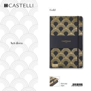 De-lux agenda Art deco Gold