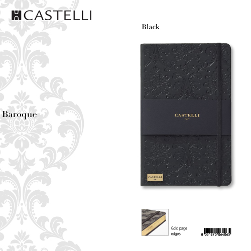 De-lux agenda Baroque Black