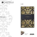 De-lux agenda Baroque Gold