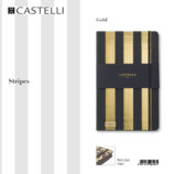 De-lux agenda Stripes Gold